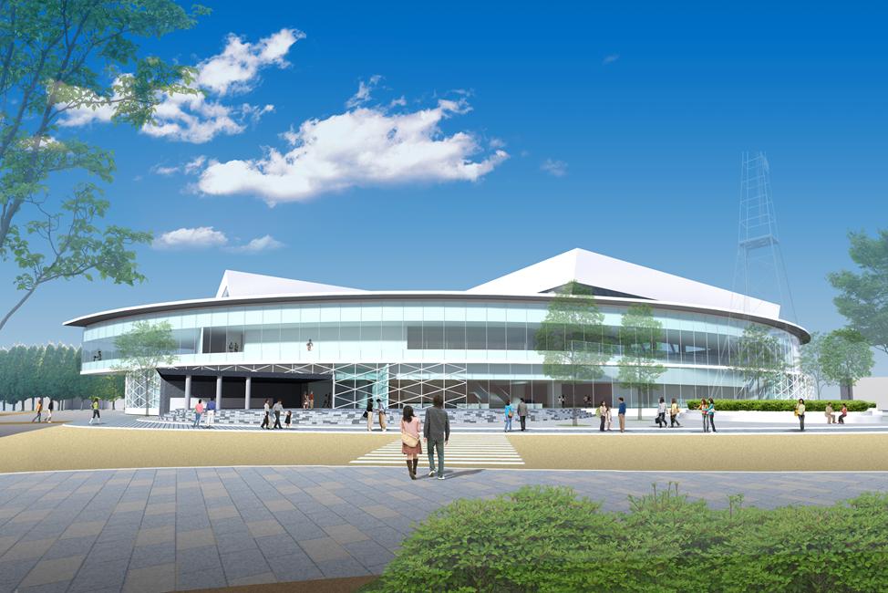 越前市総合体育館