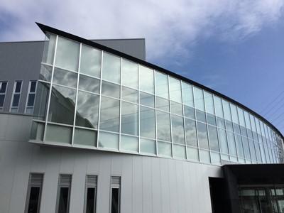 越前市総合体育館の竣工式に出席してまいりました